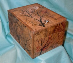 SOLD Mixed Media Boxwith Handmade Papers