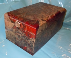 Box with Handmade Papers